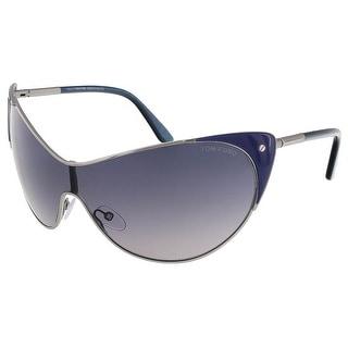 Tom Ford FT0364/S 89W Vanda Midnight Blue Cat Eye Sunglasses