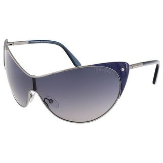 Tom Ford FT0364/S 89W Vanda Midnight Blue Cat Eye Sunglasses