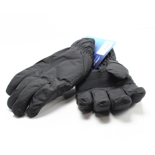 7656313fb Shop Isotoner Smart Tech Signature Men's Winter Gloves - On Sale - Free  Shipping On Orders Over $45 - Overstock - 26902641