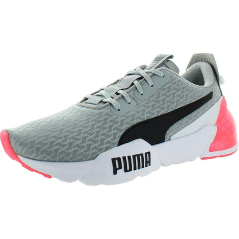 Puma Womens Cell Phase Swirl Running Shoes Mesh Padded Insole