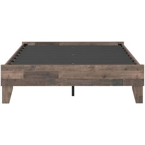 Neilsville Butcher Block Platform Bed