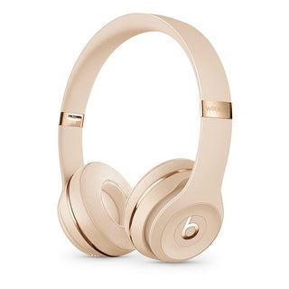 Beats by Dr. Dre Beats Solo 3 Wireless On-Ear Headphones Satin Gold
