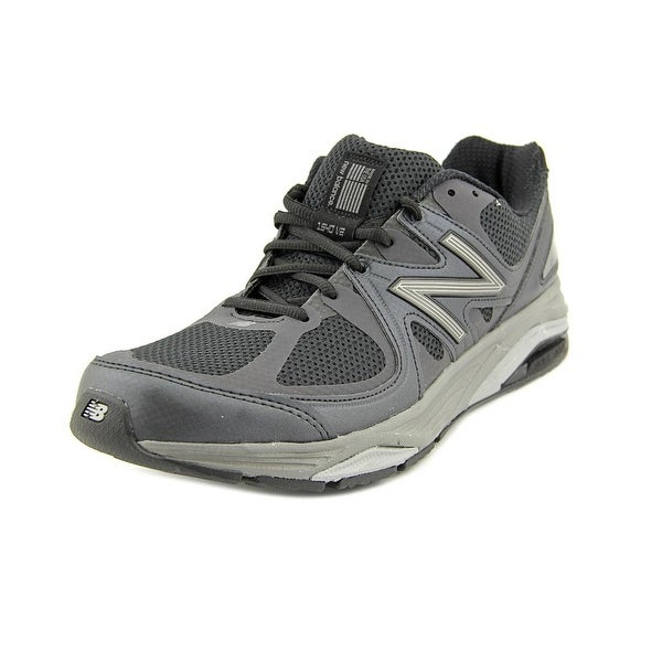New Balance M1540 Men B Round Toe Canvas Black Running Shoe
