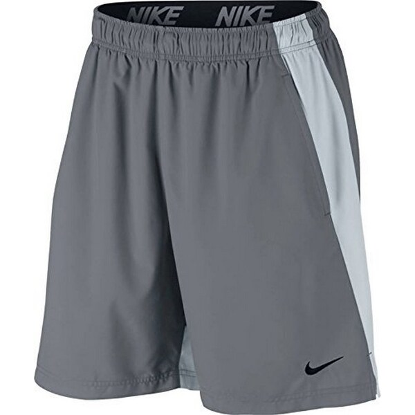 Nike Mens Flx Short Woven, Cool Grey/Pure Platinum/Black, 2Xl