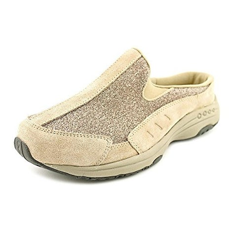 Easy Spirit Womens TRAVEL TIME Suede Low Top Slip On Walking Shoes