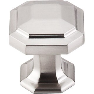 Top Knobs TK286 Chareau 1-1/8 Inch Diameter Geometric Cabinet Knob