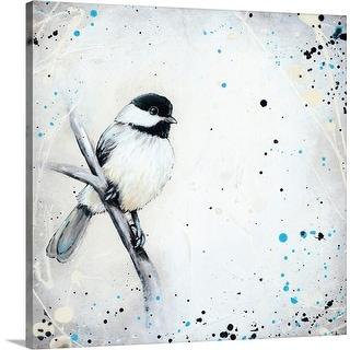 """""""Chickadee"""" Canvas Wall Art"""