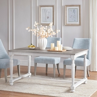 Link to Martha Stewart Winfield Natural/ Cream Dining Table Similar Items in Dining Room & Bar Furniture