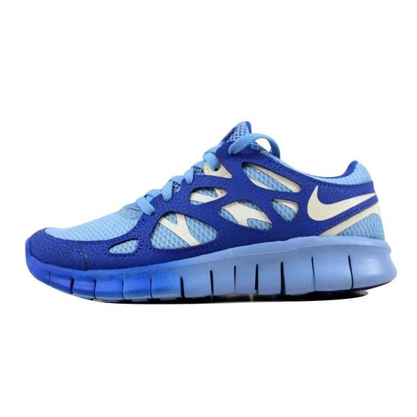 Shop Nike Women's Free Run 2 EXT Light BlueSail Hyper Blue