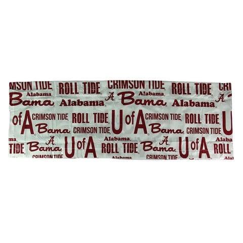 University of Alabama Crimson Tide 84 X 15 Curtain Valance - Red