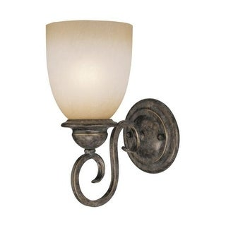 Vaxcel Lighting VL35921 Mont Blanc 1 Light Bathroom Sconce - 10.5 Inches Wide