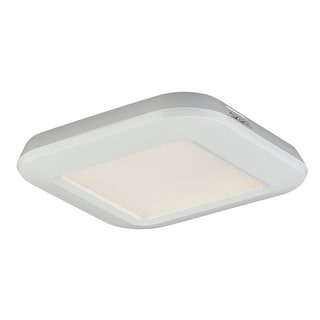 """Vaxcel Lighting X0014 Instalux 3"""" Wide Low Profile LED Under Cabinet Puck Light - White"""