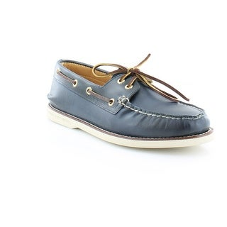 Sperry Top-Sider Gold Cup A/O 2-Eye Women's Flats & Oxfords Navy