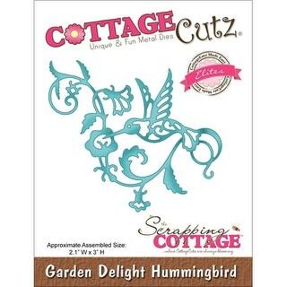 """CottageCutz Elites Die -Garden Delight Hummingbird 2.1""""X3"""""""