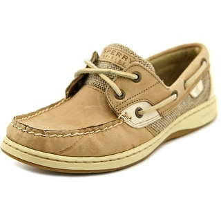 Sperry Top Sider Bluefish 2-Eye N/S Moc Toe Leather Boat Shoe