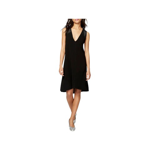 Rachel Rachel Roy Womens Party Dress Criss-Cross V-Neck