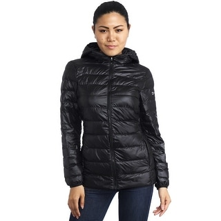 Alpine Swiss Eva Womens Down Alternative Puffer Jacket