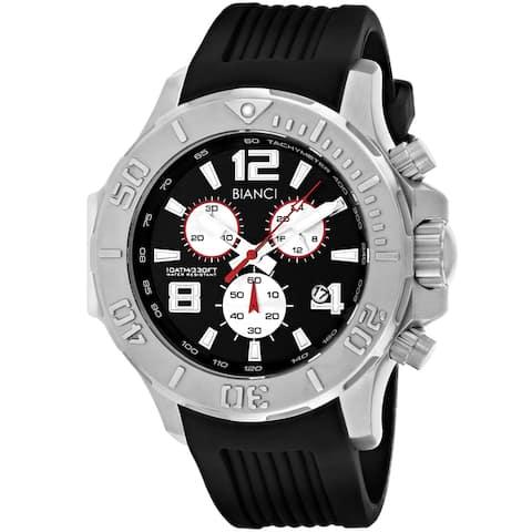 Roberto Bianci Men's Aulia Black Dial Watch - RB55050 - One Size