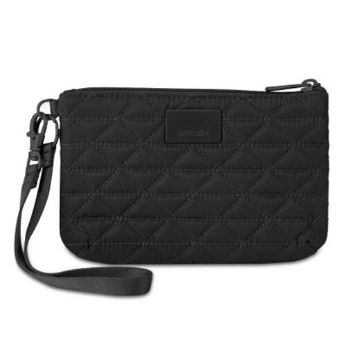 Pacsafe RFIDsafe W75-Black RFID Blocking Pouch w/ 3 Card Slots