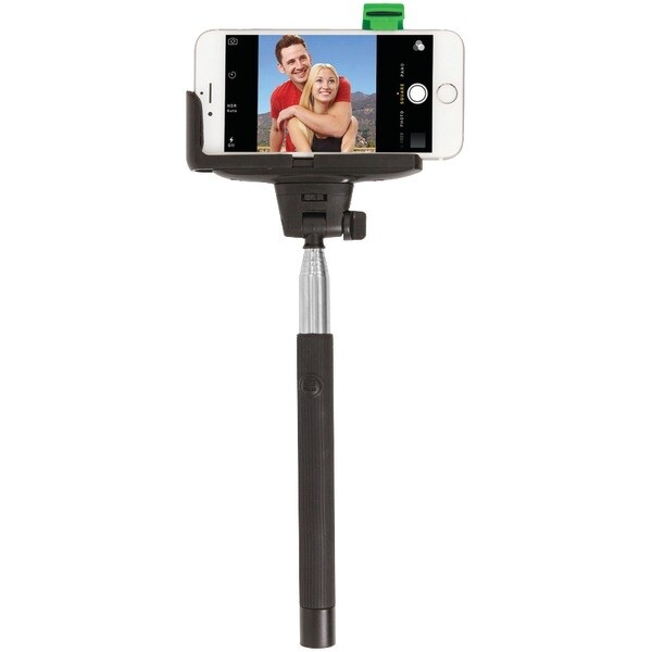 Retrak Etselfieb Iphone(R) 4/5/5S/6/6S & Samsung(R) Galaxy S(R) Iii/4 Selfie Stick With Bluetooth(R) Shutter
