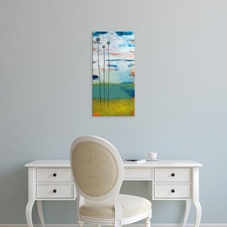 Easy Art Prints Jan Weiss's 'Desert Palms' Premium Canvas Art