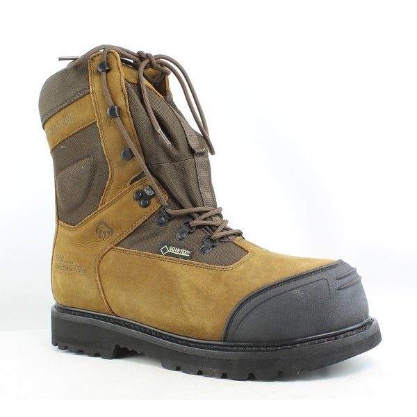 e725308a80b Shop Wolverine Mens Big Sky Gore 8 Brown Work & Safety Boots Size ...