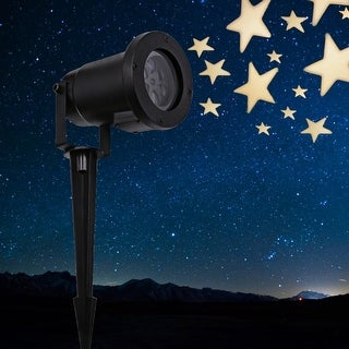 LED Star Projector Light, IP67 Waterproof Outdoor Landscape Decor Lighting