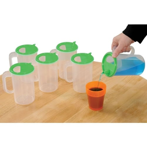 742725a353c Shop Easy Pour Pitchers (Set of 6) - Free Shipping On Orders Over  45 -  Overstock - 17763679
