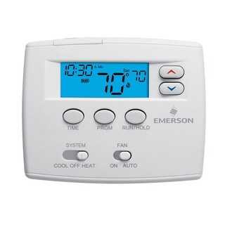White-Rodgers 1F80-0261 5 Day Programmable Digital Thermostat - classic white - N/A