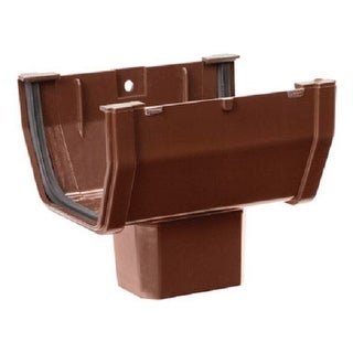 Genova RB144A Drop Outlet, Brown
