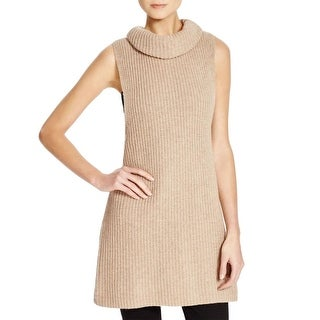 Free People Womens Sweater Vest Wool Blend Ribbed Knit