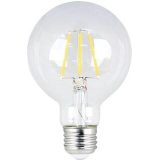 Feit Electric BPG2540827LED Globe LED Light Bulb, 300 Lumens, Clear
