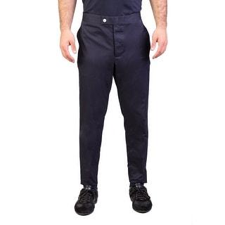 Moncler Men's Gamme Bleu Chino Trouser Pants Navy