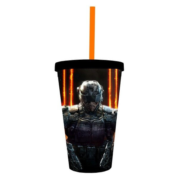 Call Of Duty Black Ops 3 16oz Travel Cup - Multi