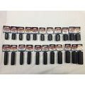 22 PC 6 Pt. 1/2 Dr. Napa SAE Impact Socket Set DEEP + STANDARD MADE IN USA! - Thumbnail 0