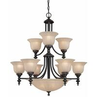 Dolan Designs 664 14 Light Up / Down Lighting Chandelier from the Richland Collection