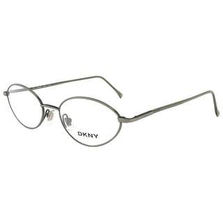 DKNY 6218 315 Brushed Green Oval Eyewear - brushed green