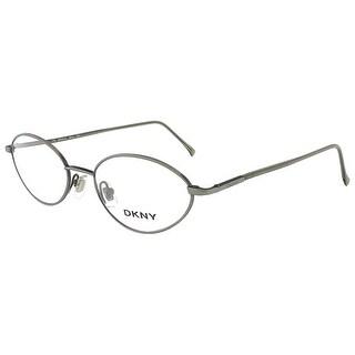 DKNY 6218 315 Brushed Green Oval Eyewear - 50-18-140