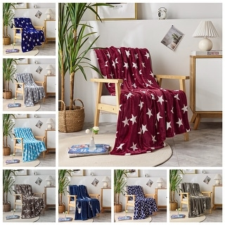 Link to Microplush Fleece Throw Blanket Ultra-Soft Velvet Throw For Couch/Sofa Similar Items in Blankets & Throws