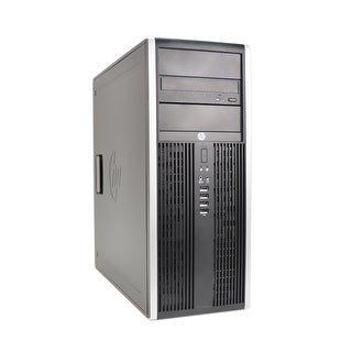 HP Compaq 8000 Intel Core 2 Duo 3.16GHz CPU 4GB RAM 1TB HDD Windows 10 Pro Minitower Computer (Refurbished)