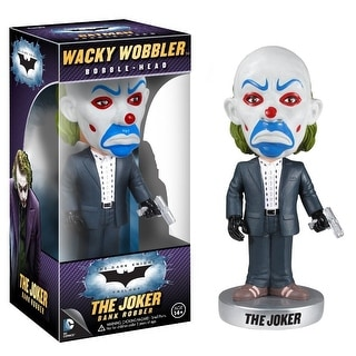 "Batman The Dark Knight 7"" Wacky Wobbler Bobble Head Bank Robber Joker"