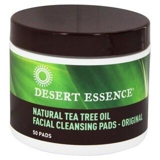 Desert Essence Cleansing Pads Tea Tree 50 Pads