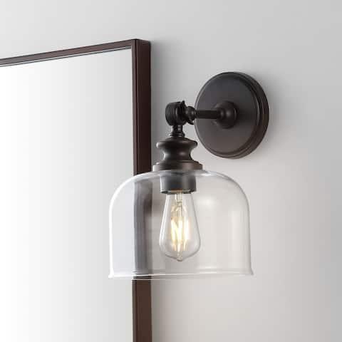 "SAFAVIEH Lighting Neri Wall Sconce - 8"" x 9.5"" x 11.5"""