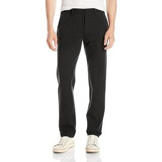 Armani Exchange NEW Gray Mens Size Large L Dress Flat Front Pants