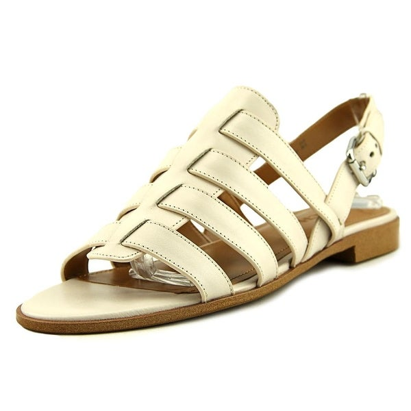 Coach Skyler Semi Matte Calf Women Chalk Sandals