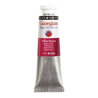 Daler-Rowney - Georgian Water Mixable Oils - 37ml Tube - Titanium White
