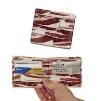 Deluxe Bacon Bi-Fold Wallet - Red