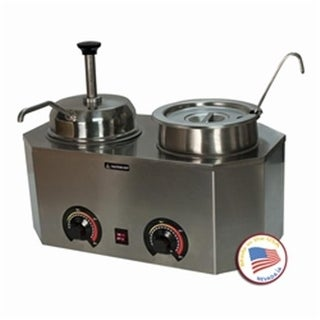 Paragon - Manufactured Fun Pro-Deluxe Warmer-Dual with Ladle and Pump