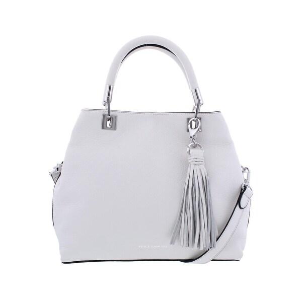 4848c78a5 Vince Camuto Womens Elva Satchel Handbag Leather Convertible - MEDIUM