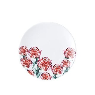 Q Squared NYC Madison Bloom Floral Print Dessert Salad Plate